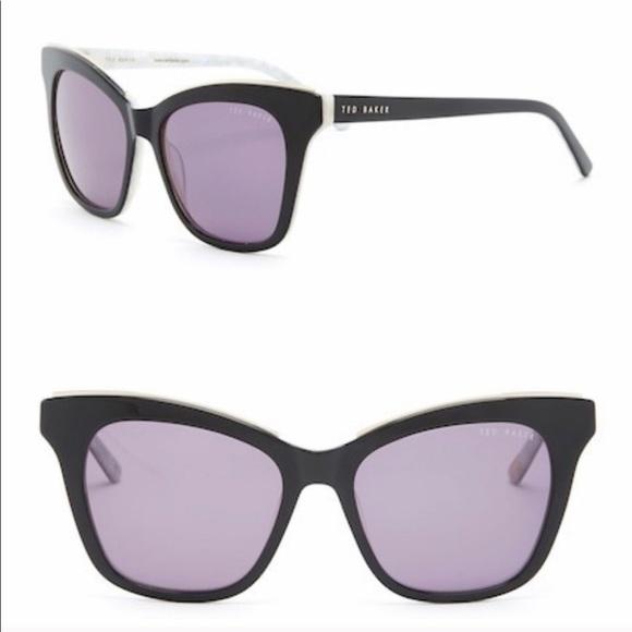 6e33a932c974df Ted Baker 53mm Full Rim Cat Eye Sunglasses